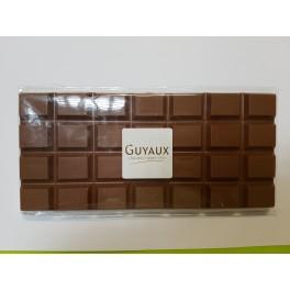 TABLETTE 200g CHOCOLAT LAIT - Poids net : 200g